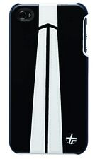 Trexta Snap On Autobahn Series 2 White on Black Case Cover for iPhone 4 / 4S