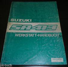 Werkstatthandbuch Grundhandbuch Suzuki Alto SA 310 Stand 07/1984