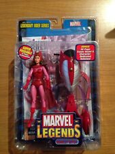 Marvel Legends Toy Biz Scarlet WItch Act Figure, Legend Rider Series MOC Sealed