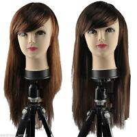 Women's Sexy Straight Long Fancy Dress Wigs Play Costume Ladies Full Wig Party