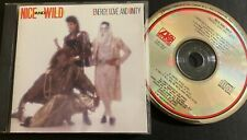 NICE AND WILD - Energy, Love And Unity - NM 1987 Atlantic Freestyle CD