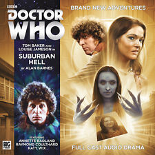 DOCTOR WHO Big Finish Audio CD Tom Baker 4th Doctor #4.5 SUBURBAN HELL