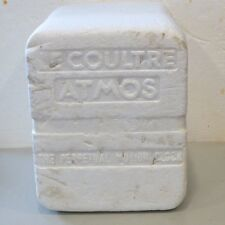 ORIGINAL LE COULTRE ATMOS PERPETUAL MOTION CLOCK STYROFOAM BOX !!