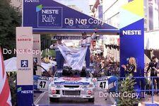 Marcos Ligato Mitsubishi Lancer Evo VI Finland Rally 2001 Photograph