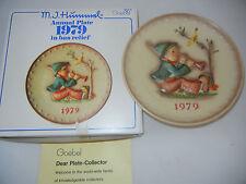 Goebel Jahresteller 1979  s`stimmt net + Originalkarton (meine Pos-Nr. 1979-9)