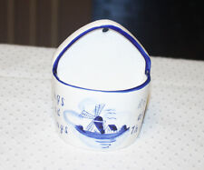 Delft Rings and Things Wall Pocket Holder Netherlands