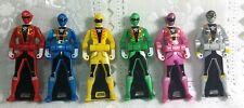 Gokaiger Ranger Key SPECIAL EDITION SHINY Metallic Set Bandai Japan Gokai Red