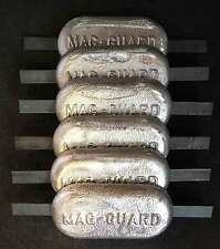 6 x 2.5kg Magnesium anode. Canal, river, narrow boat, barge, yacht, cruiser.
