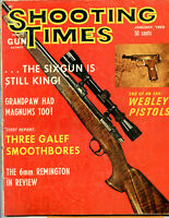 SHOOTING TIMES Magazine January 1969 The Six Gun is Still King!
