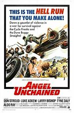 Angel Unchained movie film DVD transfer motorcycle biker gang delinquents