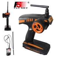 FLYSKY FS-GT2 2CH 2.4G Radio Remote Controller Transmitter with GR3E Receiver