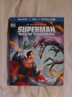 Superman: Man of Tomorrow (Blu-ray+Dvd+Digital,2020) NEW Target SteelBook
