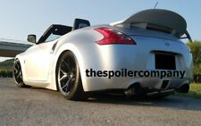 "UN-PAINTED for 2010-2017 NISSAN 370Z CONVERTIBLE ""TEXAS TWISTER"" REAR SPOILER"