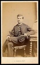 CDV c. 1865 - Mr Charles Raoult Uniforme - Ph. Franck St Dié des Vosges - 1071