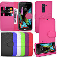 For LG K10 K410 / LG K8 K350N K8 LT Wallet Leather Case Cover + Touch Stylus