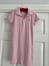 Polo Ralph Lauren girls light pink dress - size M (8-10) 140cm - vgc