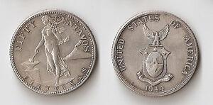 Philippines 50 centavos 1944 S UNC !!!