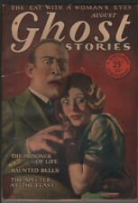 Ghost Stories April 1928 August.  Pulp