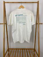 VTG Airgasm Definition Skydiving Single Stitch Air Boingo T-Shirt Size XL USA