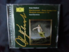 Franz Schubert-pianoforte Sonata D 960/Moments lmprowisi D 780-Daniel Barenboim