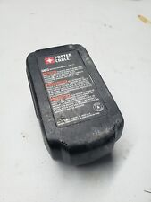 Porter Cable 18v Battery Gently Used pc18b 1.5 amp battery