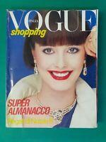 Vogue Italy Shopping 368 December 1980 December Furs Fashion Fur Fourrure Pelz