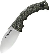 COLD STEEL 28DWA COLOSSUS I CTS-XHP STEEL MIKE WALLACE FOLDING KNIFE.