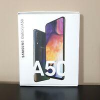 """Samsung Galaxy A50 SM-A505U 6.4"""" 64GB Smartphone for Sprint Black New Sealed"""