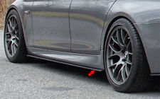 HC1 Side Skirt Extension Splitter for 2012-17 BMW F10 5 Series M SPORT Unpainted