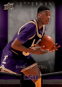 2014-15 Upper Deck Lettermen Basketball #38 Shaquille O'Neal LSU Tigers