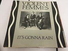 "LP 12"" UK Violent Femmes ‎– It's Gonna Rain Label: Slash ‎– LASHX 3, EX/EX"