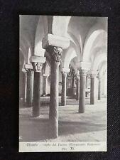 Cartolina Otranto Cripta del Duomo RD107