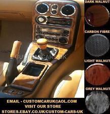Mazda MX5 89-98 MK1 Miata Eunos Roadster Walnut Wood / Carbon Fibre 3D Dash Kit