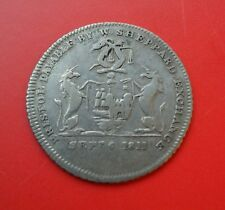 1811 Bristol Sixpence - Sheppard Silver Token