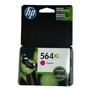Genuine Original HP 564XL Magenta Inkjet Cartridge SEALED Expired May 2019