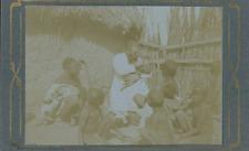 Egypte, Nubie, Tribu Nubiens, Médecin Colonial  Vintage citrate print Tirage