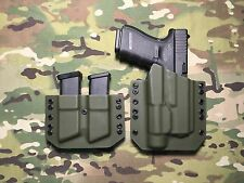 OD Green Kydex Glock 19/23/32 with Streamlight TLR-1 & Mag Carrier