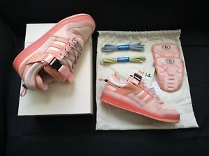Adidas Bad Bunny Forum Low Easter Egg Pink GW0265 Size 8.5