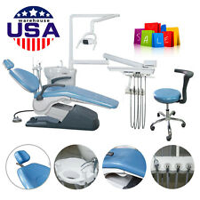 Fda Ce Dental Unit Chair Tj2688 A1 Computer Controlled 110v Hard Leather Usps Sa