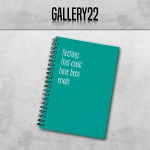 Meetings That Could Have Been Emails A5 Notebook Work Funny Slogan Stationery
