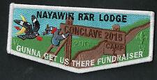 296 Nayawin Rar SR-7B 2015 Conclave Gunna Get Us There Fundraiser OA Flap