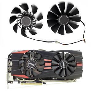 For ASUS GTX 760 780 R9 280 290 R9 280X 290X 390 390X GTX970 SET VGA Cooler Fan