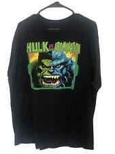 The Incredible Hulk Vs Abomination Loot Crate Mens Graphic T-Shirt 2XL EUC!