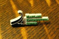 Maryland Environmental Service Lapel Pin - Vintage MD Nature Environment Group