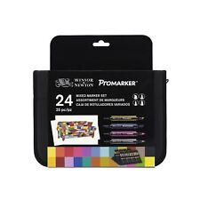 W&N Mixed Marker Set 24 In Wallet
