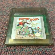 Extreme Sports With The Berenstain Bears (Nintendo Game Boy Color) GBC (Works!)