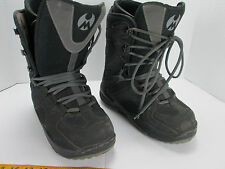 Matrix Snowboard Boots Woman's Size 6 Black/Gray Snow Winter Ankle Protection GS