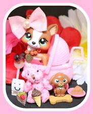 ��Authentic Littlest Pet Shop Lps #2150 Mocha Brown Welsh Corgi Puppy Dog Baby��
