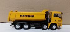 """MAN 8x4-Achs Halfpipe Kipper """"Heffner"""" von Conrad unbespielt M1:50"""