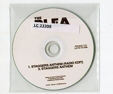 The Plea - cd-PROMO - STAGGERS ANTHEM © 2011 UK-1-Track-CD - Indie Rock